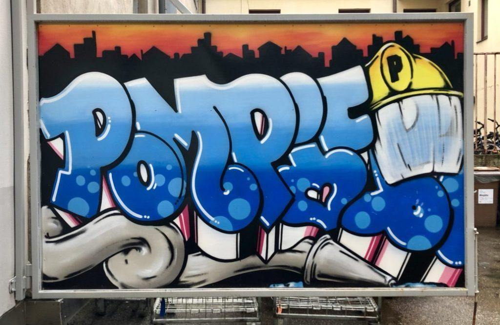 Pompier-graffiti