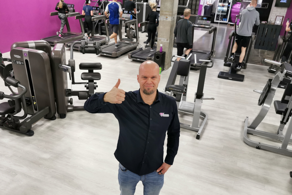 Liikuntakeskus Voiton omistaja Tuomo Kilpeläinen