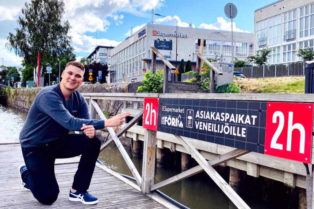 K-Supermarket Föri myymäläpäällikkö